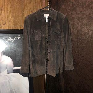 Women's Suede Jacket